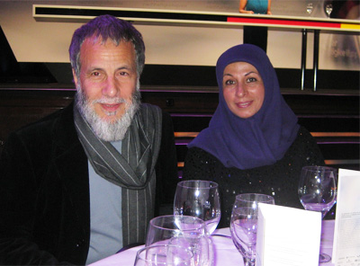 Yusuf Islam (aka Cat Stevens) and his wife, Fauzia Mubarak Ali