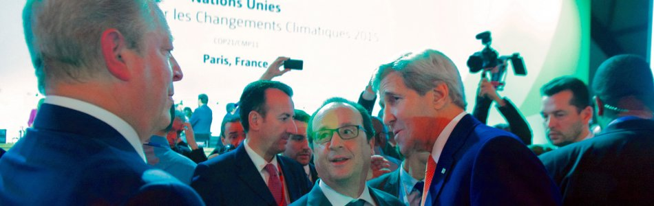 Kerry, Gore and Hollande