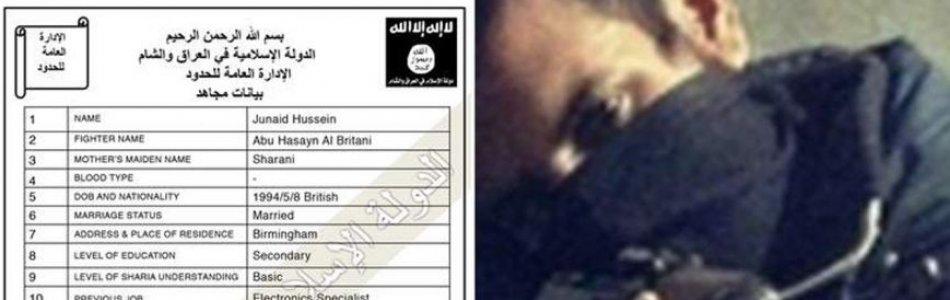 ISIS Registration form