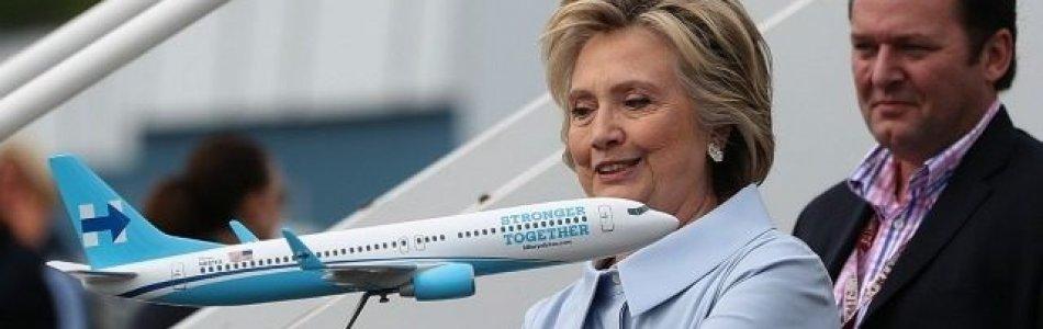 Hillary Clinton's Jet