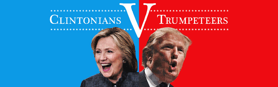 Clinton Trump supporters