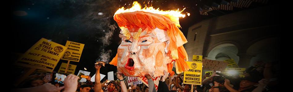 Liberals Protest Trump