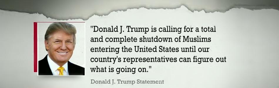 Trump Muslim Statement