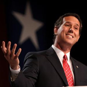 SANTORUM'S RISE | New polls point to a tight race between Santorum and Romney | From AND Magazine