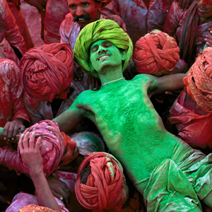 WHAT IS HOLI? | Some people color eggs, but we color everything. | From AND Magazine