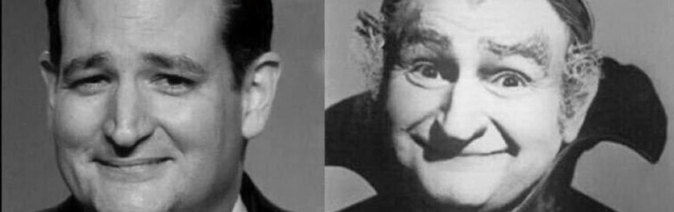 Grandpa Munster and Cruz