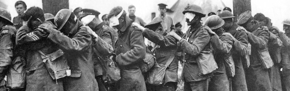 Blinded British Troops