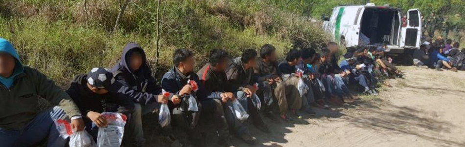 Illegal Immigrants Apprehended By Agents